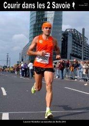 Laurent Michellier au marathon de Berlin 2011 - Nicolaclusaz