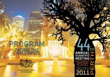 annual scientific meeting - Australasian College of Dermatologists