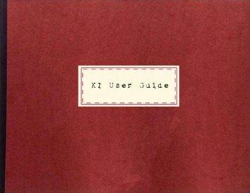 KI User Guide - All Things Uru