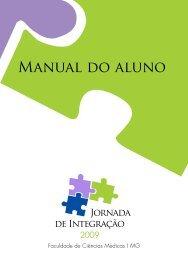 Manual do aluno - Faculdade de Ciências Médicas de Minas Gerais