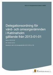 och omsorgsnämnden från 2013-01-01, 201 kB - Katrineholms ...