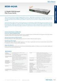 catalog download - CTC Union Technologies Co.,Ltd.