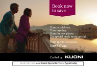 Book now to save - Travel Club Elite