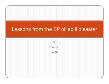 bp oil spill essay for business communications temple fox mis