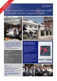 AGM at Bluebird flyer.pub - SDEA