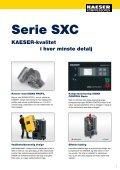 "Skruekompressorer Serie SXC ""compact"" - KAESER Kompressorer - Page 7"
