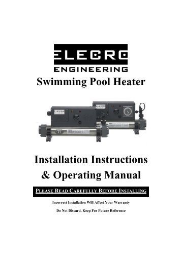 Elecro Pool Heater Wiring Diagram. Jacuzzi Wiring Diagram ... on