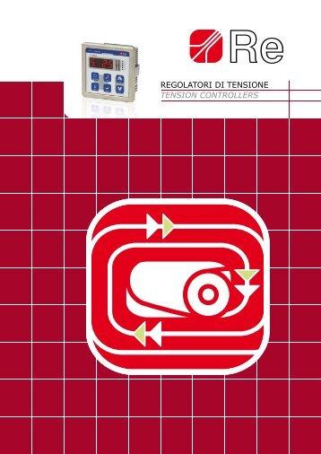 regolatori di tensione tension controllers - Manupala industrie
