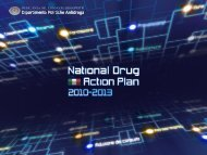 Italian National Drugs Plan 2010 - 2013 Serpelloni - Dipartimento ...