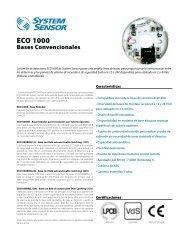 BASES ECO1000 - System Sensor Canada