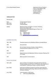 Publikationen - Medizinischen Klinik und Poliklinik II