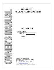 PHL Manual - Pioneer Air Systems Engineering