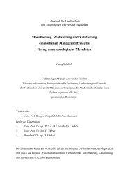 Modellierung, Realisierung und Validierung eines ... - Tec.wzw.tum.de