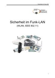 Sicherheit im Funk-LAN - Netzmafia