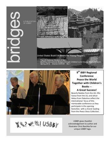 USBBY Newsletter Spring 2012
