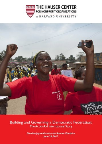 Building and Governing a Democratic Federation: - ActionAid ...