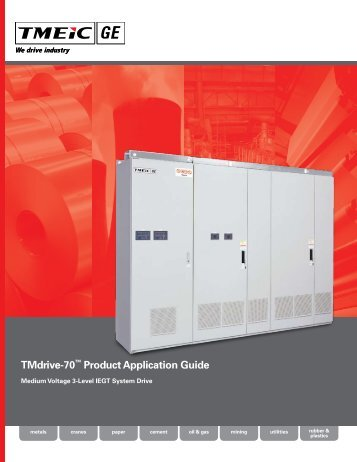 TMdrive-70™ Product Application Guide - Tmeic.com