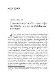 Regio - Kisebbség, politika, társadalom 11.évf. (2000.) 3.sz.