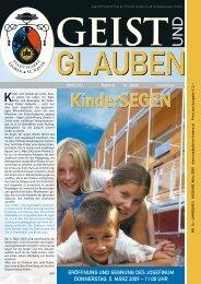 GEIST und GLAUBEN, Februar 2009 - Montanuniversität Leoben