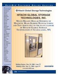 HITACHI GLOBAL STORAGE TECHNOLOGIES, INC.