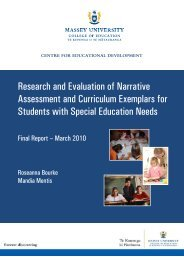 Research and Evaluation of Narrative Assessment - Special ...