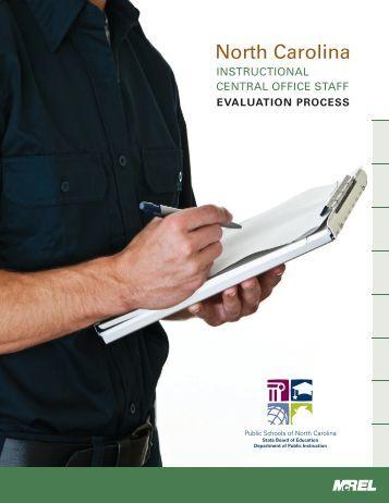 Mcrel teacher evaluation rubric nc