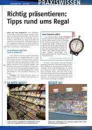 PR 2/2008 - Presse Report