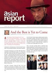 And the Best is Yet to Come - Asian Outreach USA