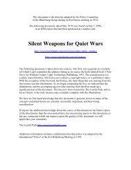 Silent Weapons For Quiet Wars.PDF VERSION - StopTheCrime.net