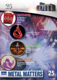 Adobe Acrobat (7.4mb) - Confederation of British Metalforming