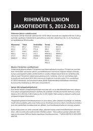 Jaksotiedote 5, 2012-2013.indd