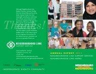 Neighbourhood Link 2011 Annual Report - Neighbourhoodlink Link ...