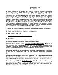 Minutes 9-8-09.pdf - Oxford Hills Comprehensive High School!