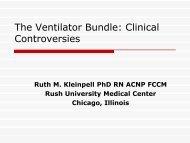 The Ventilator Bundle