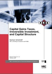 Capital Gains Taxes, Irreversible Investment, and Capital Structure
