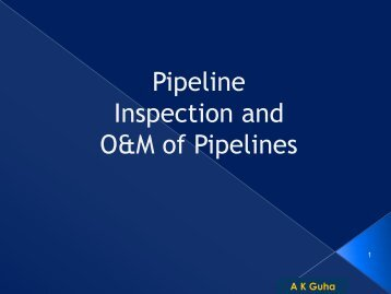 Pipeline Inspection and O&M of Pipelines - petrofed.winwinho...