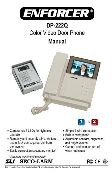 Outstanding Genway Door Phone Manual Wiring Digital Resources Otenewoestevosnl