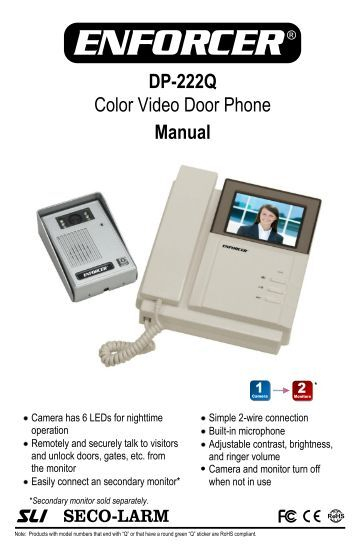 Fine Genway Door Phone Manual Wiring Digital Resources Sulfshebarightsorg