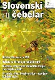 št. 11 - Čebelarska zveza Slovenije