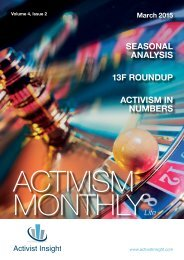 Activism Monthly Lite March 2015