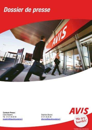 Dossierdepresse VV 210408 - Avis
