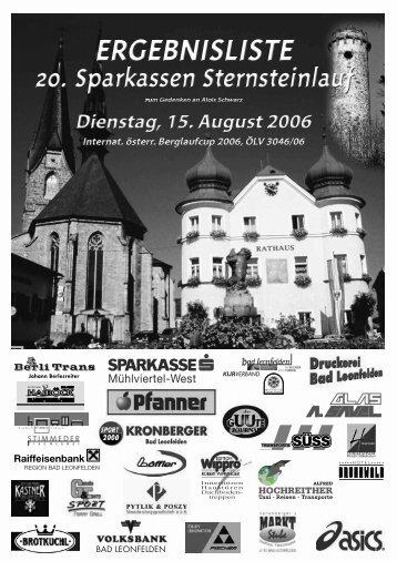 E rgebnisbericht - Union Bad Leonfelden