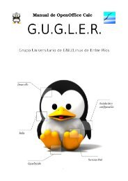 Manual de OpenOffice Calc - Casanas.com.ar
