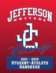 Jefferson College Student-Athlete HAndbook 2011-2012 1