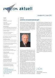 aktuell - Intecon Treuhand und Wirtschaftsberatung GmbH