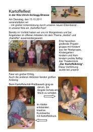 Kartoffelfest - Kinderbetreuung in Augsburg