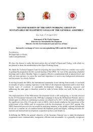Troika - United Nations Sustainable Development