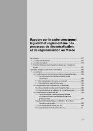 Rapport sur le cadre conceptuel, législatif et réglementaire des ...