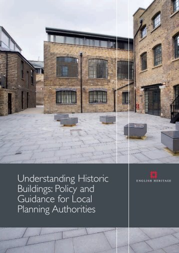 Understanding Historic Buildings: Policy and Guidance for Local ...