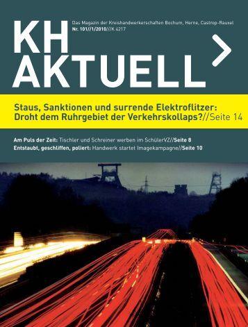 Ausgabe 1-2010 - Kreishandwerkerschaft Bochum